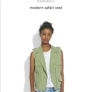 Madewell Safari Vest